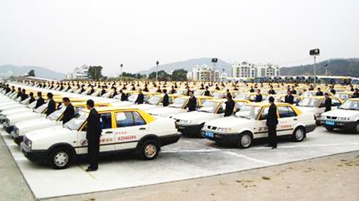 浙江省青田县教练车内设GPS 学员学车更安全